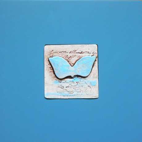 Engelsflügel ...Mosaikfläche ca. 9 x 9cm 24 EU