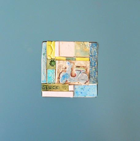 die erste Vespa!!! Mosaikfläche ca. 9 x 9cm 29 EU